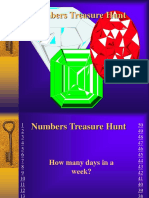 Numbers Treasurehunt