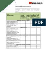 Instrumento de Evaluación Presentación DMM