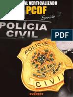 Edital Verticalizado PCDF Escrivão