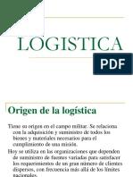 Origen de la logistica