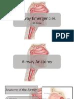 Airway Emergencies