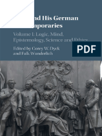 Kant and His German Contemporar - Corey W. Dyck.pdf