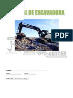 MANUAL DE EXCAVADORA