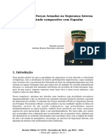 O emprego das Forças Armadas na Segurança Interna em Portugal