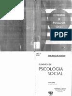 Sesión 1. Lectura 2. Mann Leon. Elementos de La Psicologia Social.cap.2