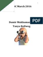 ADC W2016 Damir Tanya