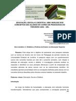 Educacao Escola e Didatica Uma Analise Dos
