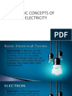 Basic Concept of Electricity