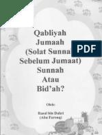 Solat Qabliyah Jumaat, Adakah Sunnah atau Bid'ah