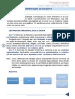 Resumo 872865 Gilcimar Rodrigues 46896030 Lei Organica de Salvador Aula 03 Competencias Do Municipio