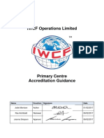 AC-0087 Primary Centre Accreditation Guidance