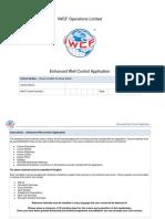 AC-0103 Enhanced Well Control Application