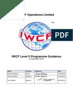 AC-0096 IWCF Level 5 Programme Guidance