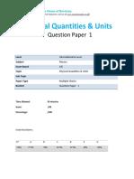 1.1 Physical Qualtities-cie Ial Physics-qp