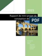Rapport Projet Conception Des Ponts