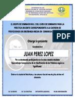 Diploma Clase Modelo