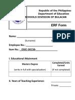 002 Erf Form