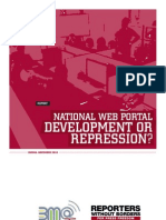 National Web Portal Development or Repression (Report)