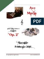Ave Maria Di Luigi Foresio_Opera n.2