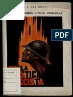Corporativismo Commercio e Politica Internazionale 1936