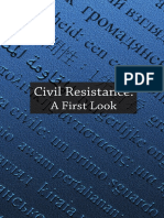 Civil Resistance a First Look