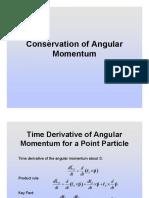 25.Conservation of Angular Momentum (Slides)