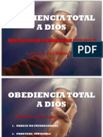 OBEDIENCIA TOTAL A DIOS