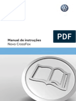 Manual de instruções Novo CrossFox - VW