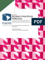 Revista Estado y Politicas Publicas Nº 12