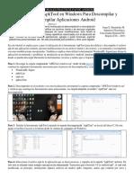 Descompilando y Compilando APKs Con ApkTool y WindroidSL Signed