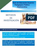 Metodos de La Investigacion