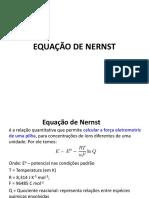 Equação de Nernst 5