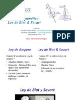 Campos Magneticos- Ley de Biot y Savart