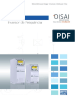 WEG Inversor de Frequencia Cfw300 50066189 Catalogo Portugues Br