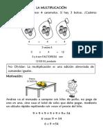 LA MULTIPLICACIÓN 4°
