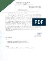 Creche National Minimum Guidelines