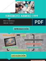 Terremoto Armero 1999