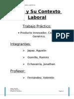 Tp Prod or Copia y Generico