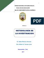 Modulo de Metodologia de La Investigacion