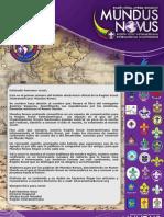 """Revista Scout  """"Mundus Novus"""""""