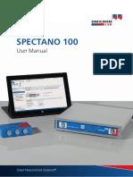 Spectano 100 User Manual