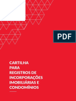 Cartilha Para Registros de Incorporacoes Imobiliarias e Condominios