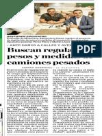 24-07-19 Buscan regular pesos y medidas de camiones pesados