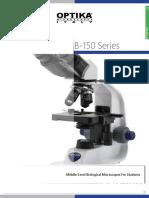 OPTIKA Microscopy Catalog - Educational - B-150