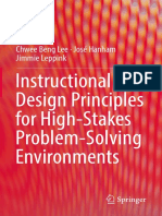 Chwee Beng Lee, José Hanham, Jimmie Leppink - Instructional Design Principles for High-Stakes Problem-Solving Environments-Springer Singapore (2019)