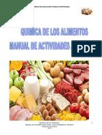 Manual Actividades Qca de Los Alimentos