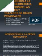 Introduccion a La Optica Geometrica, Formacion De