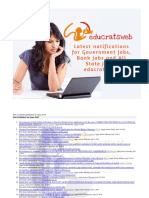 Jobs, Contents Published on June 2019 #Educratsweb