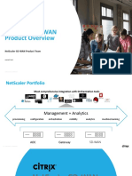 NetScaler SD-WAN - Technical Overview