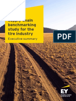 EY Global Supply Chain Benchmarking Study for the Tire Industry Executive Summary